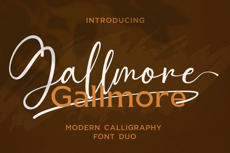 Gallmore // Chic Font Duo example image 1
