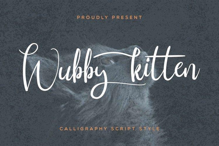 Wubby Kitten example image 1
