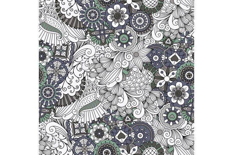 Lovely symmetrical full frame background on white example image 1