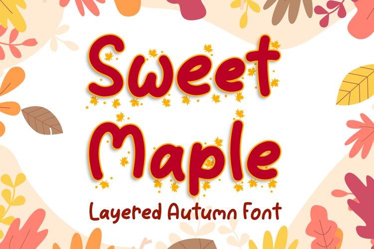 Sweet Maple example image 1