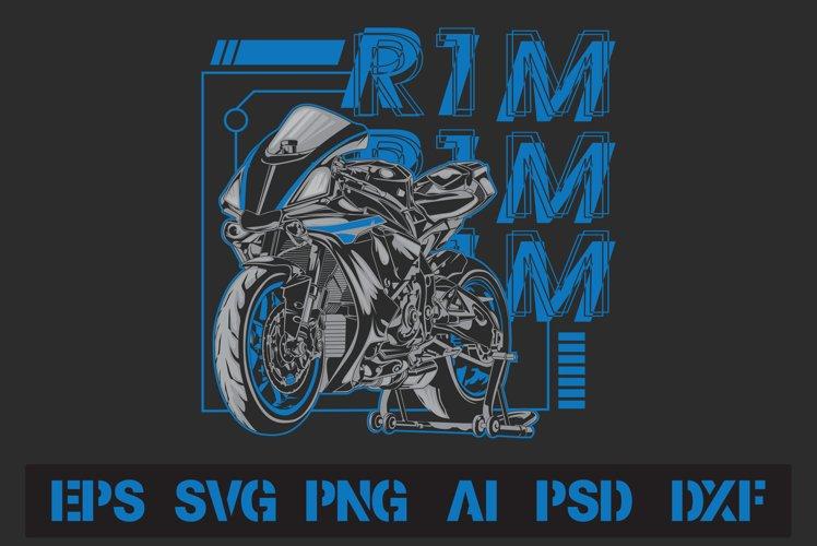 Yamaha R1M T-Shirt Design