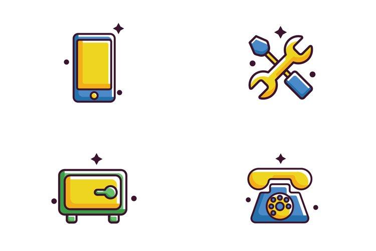 Flat 0.6 Bundle Business Icon