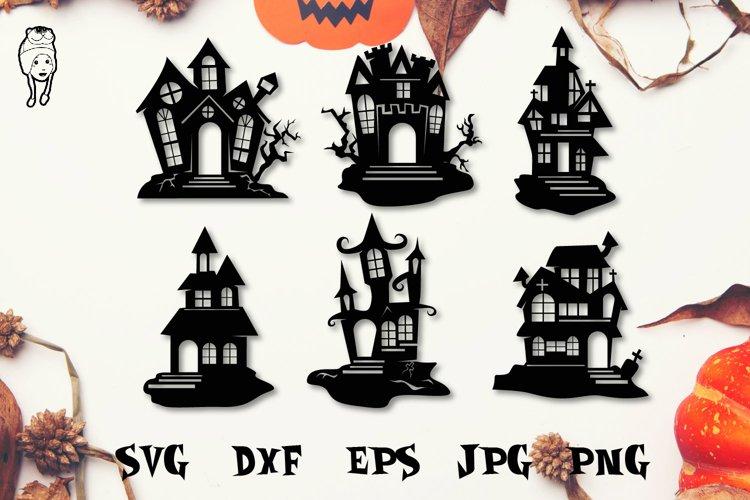 Halloween House SVG Cut Files