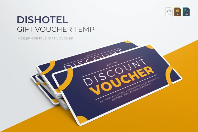 Dishotel | Gift Voucher example image 1
