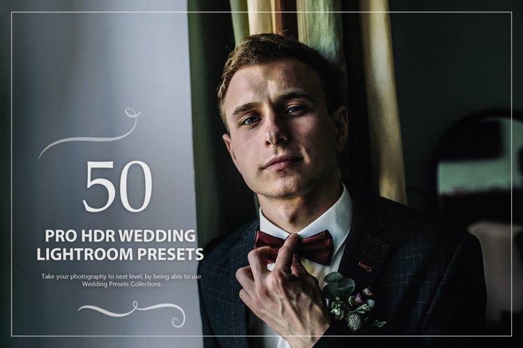 50 Pro HDR Wedding Lightroom Presets example image 1