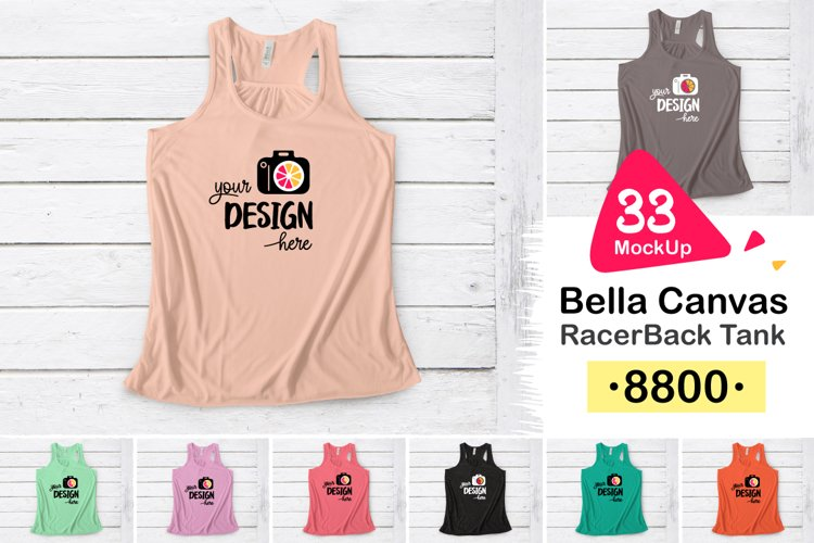 8800 Bella Canvas RacerBack Tank 004