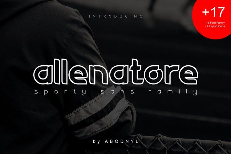 Allenatore - Sporty Sans Family- example image 1