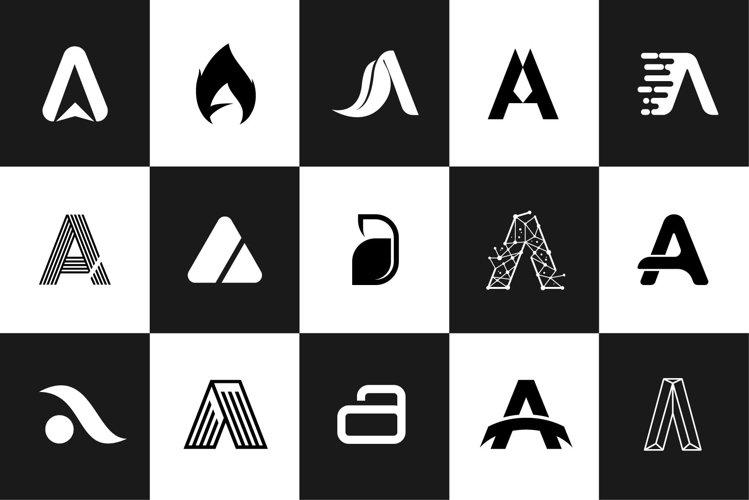 The Logos Letter Alphabet A