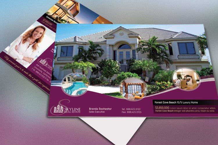 Real EstateEDDM Postcard Template