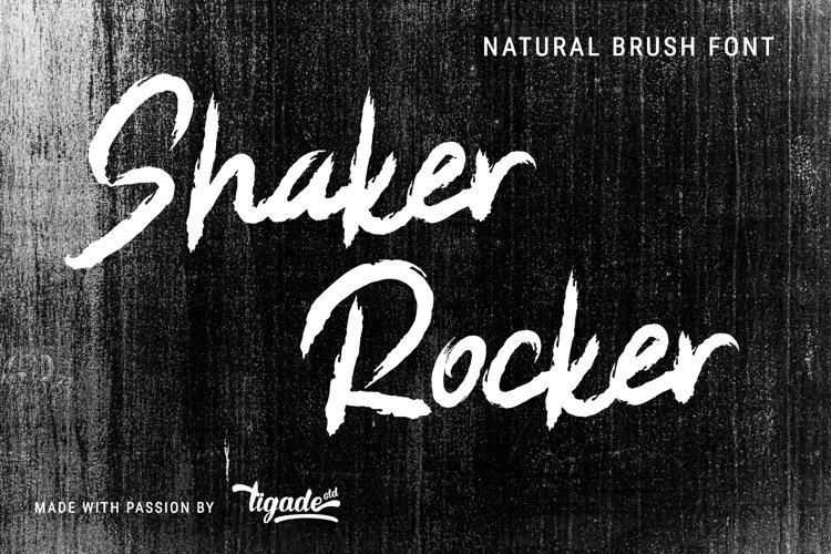 Shaker Rocker example image 1