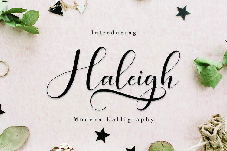 Haleigh Script example image 1