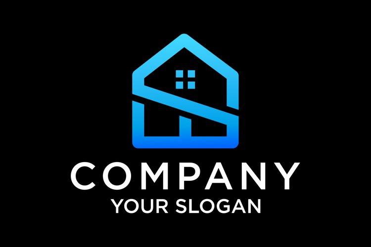 S home logo design premium