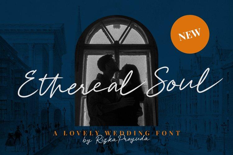Ethereal Soul - Wedding Signature Font example image 1