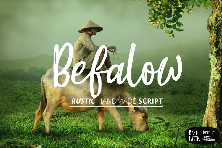 Befalow Rustic Font example image 1