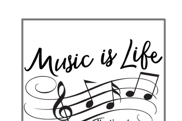 Music is Life, Thats why hearts have beats