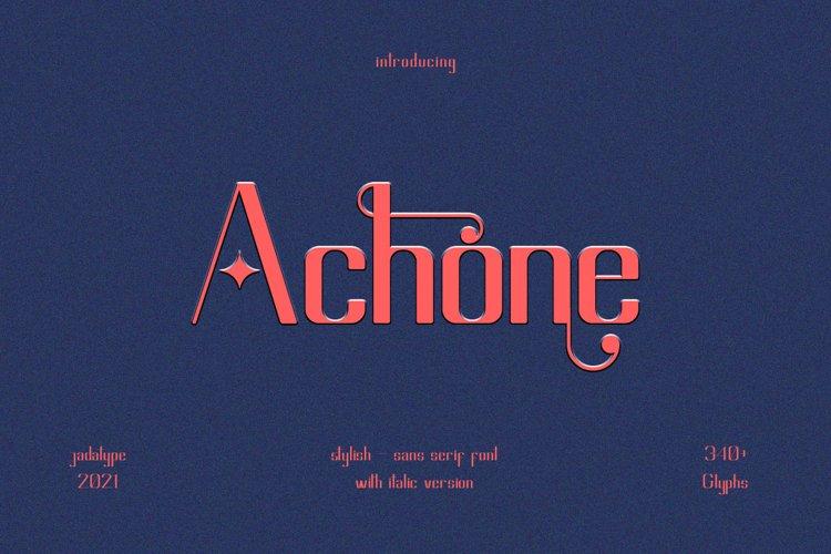 Achone example image 1