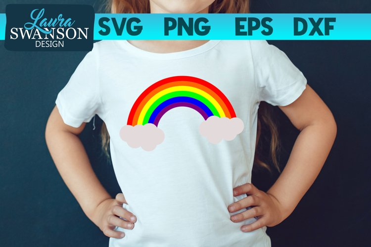 Rainbow SVG, PNG, EPS, DXF