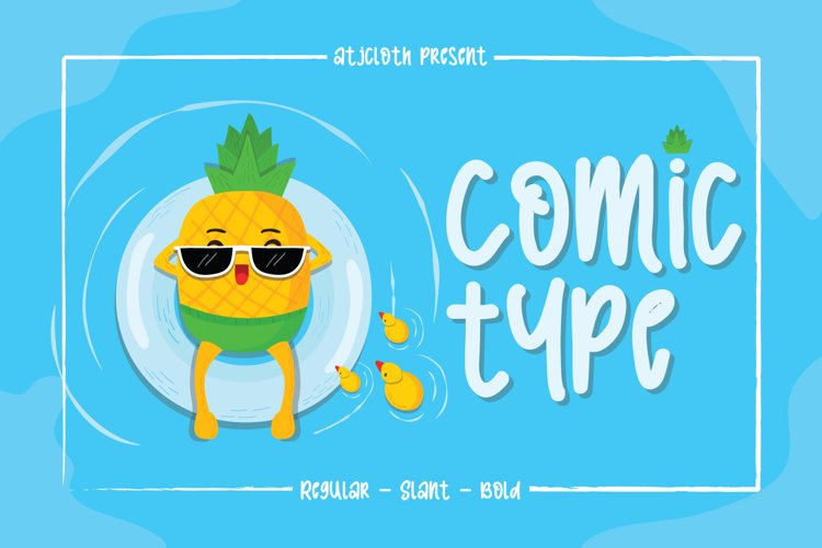 Comic Type - Free Font of The Week Font