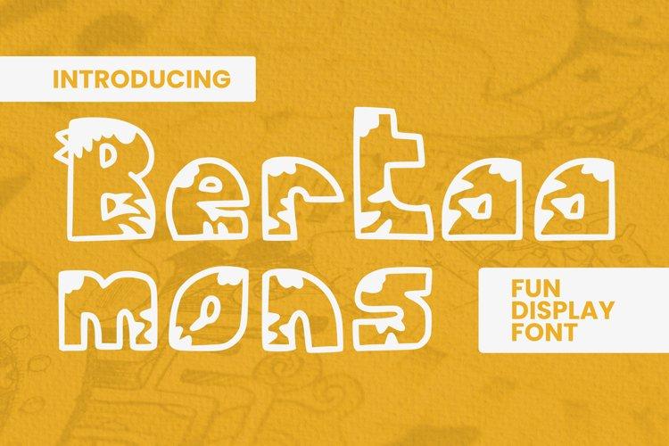 Bertaa Mons Font example image 1