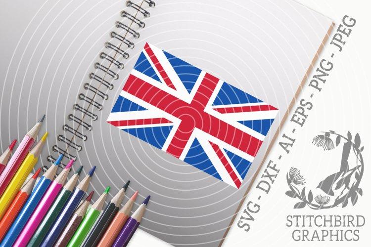 Union Jack SVG, Silhouette Studio, Cricut, Eps, Dxf, PNG, AI example image 1