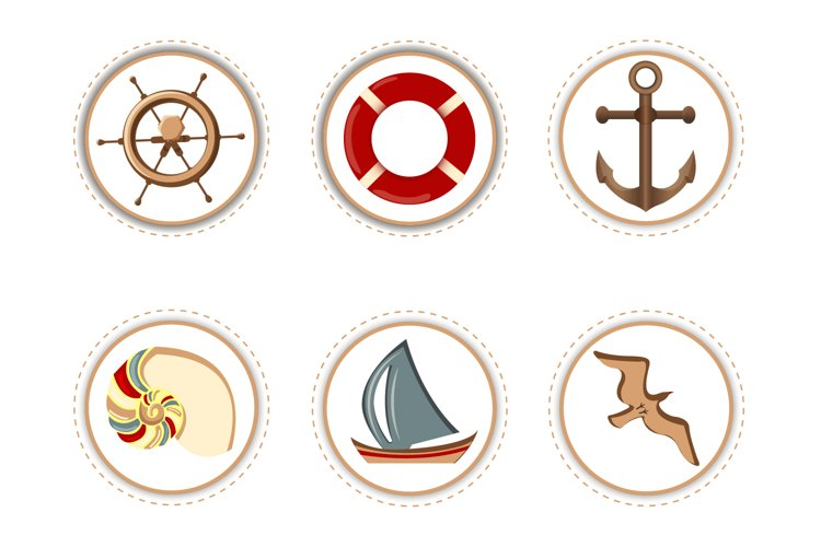Marine Attributes - Stickers