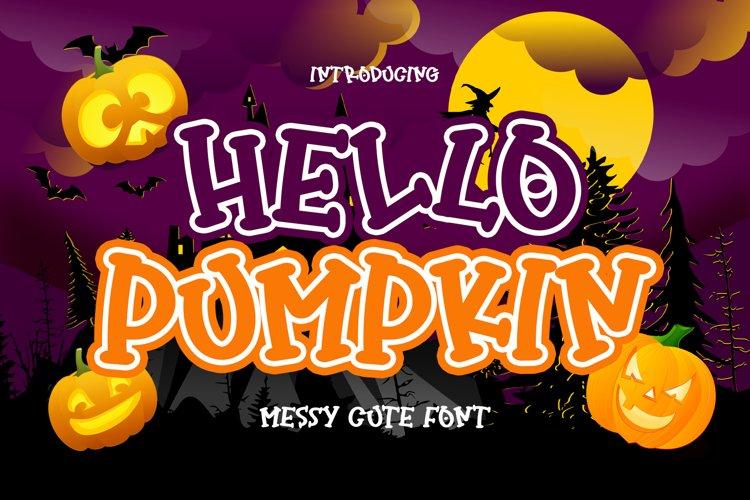 Hello Pumpkin example image 1