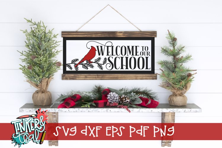 Welcome Cardinal SVG example image 1