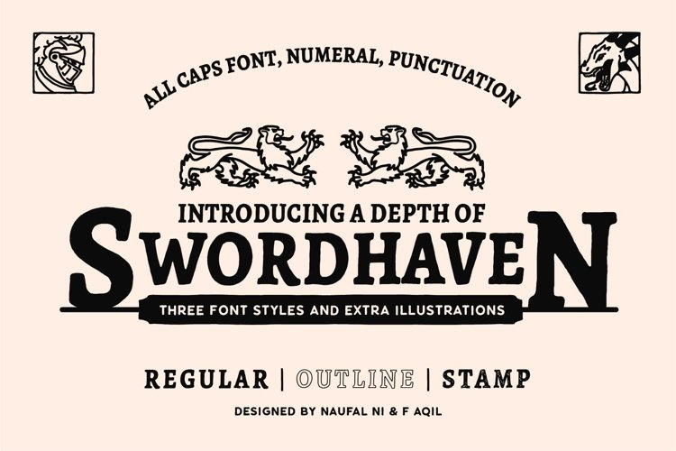 SWORDHAVENEN Font