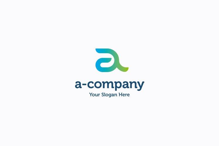 A-Company logo example image 1
