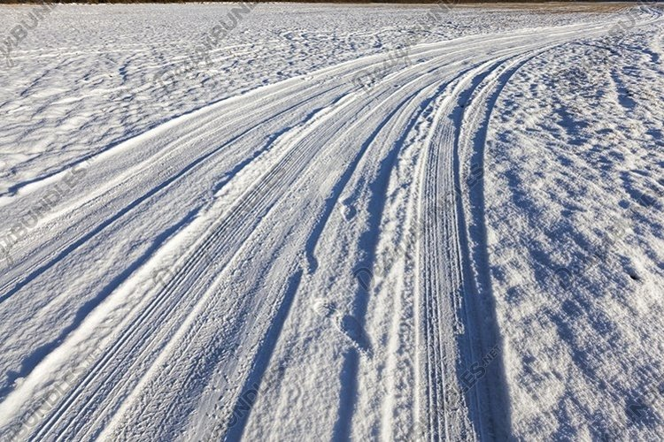 winter time on the road example image 1