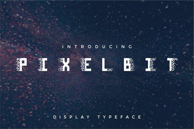 Pixel Bit Typeface example image 1