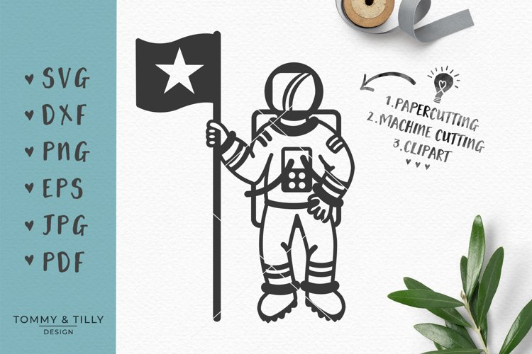 25+ Astronaut In Space Svg Dxf Png Pdf Jpg Crafter Files