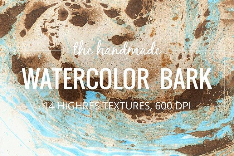 Watercolor bark paper example image 1
