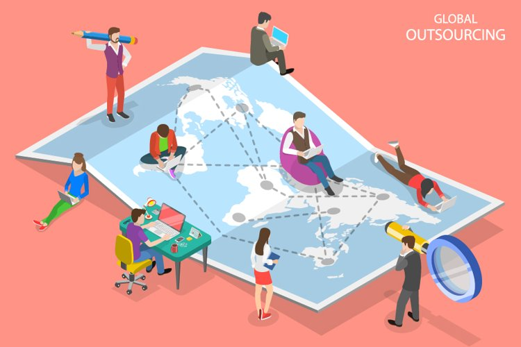 Global outsourcing example image 1