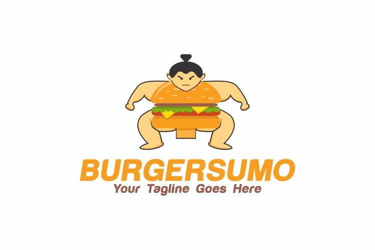 Sumo Burger Logo example image 1