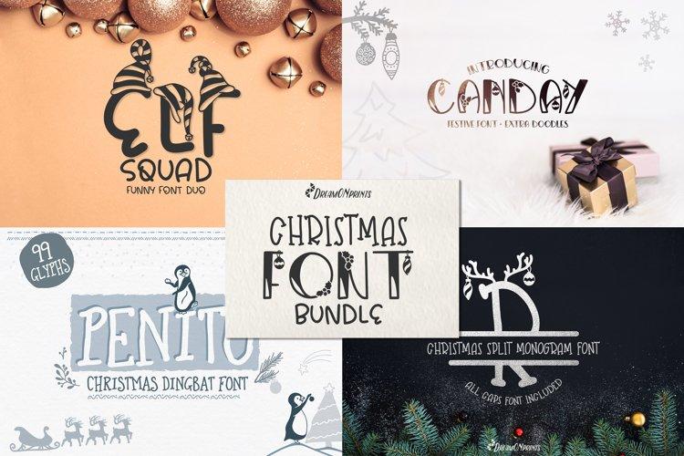 Christmas Font Bundle