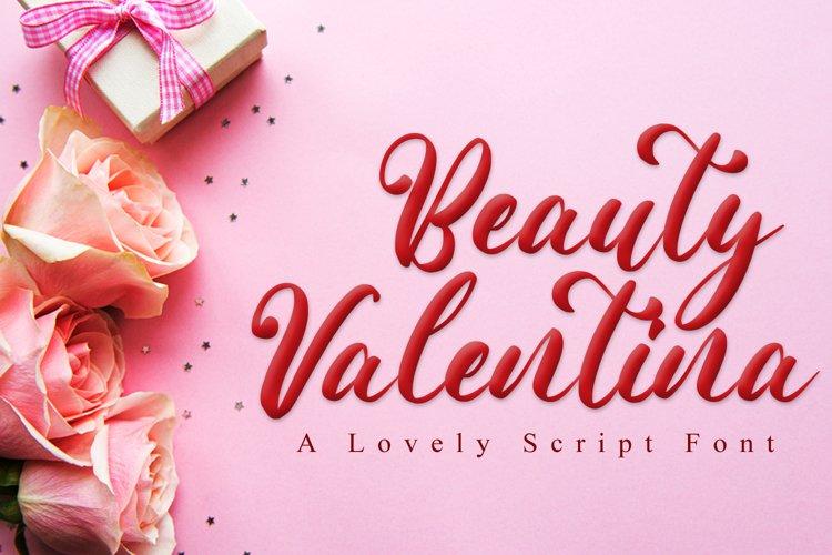 Beauty Valentina example image 1
