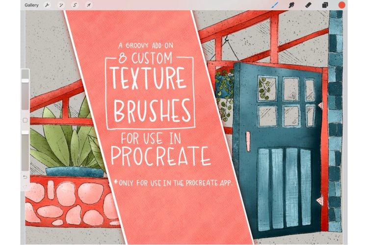 Procreate Texture Brush Set example image 1