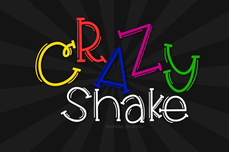 Crazy Shake example image 1