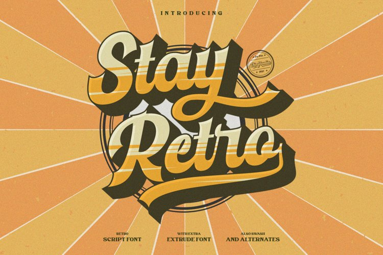 Stay Retro example image 1