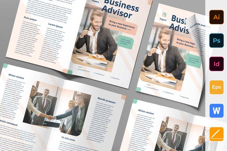 Business Advisor Brochure Bifold example image 1
