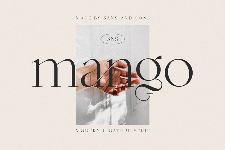 Mango - Modern Ligature Font