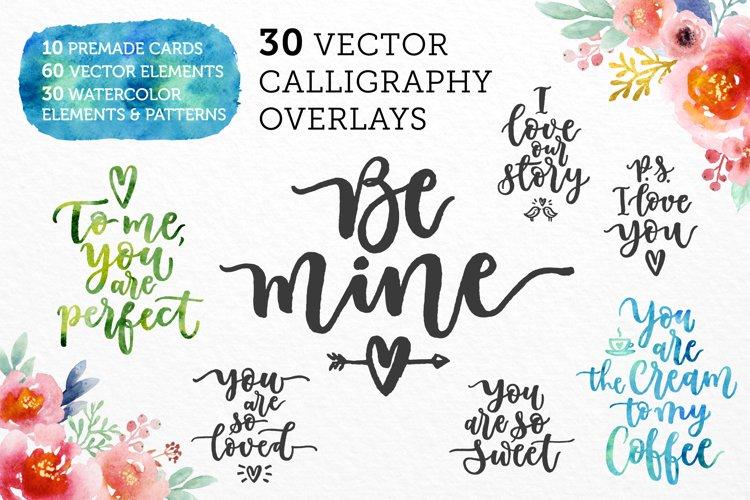 Romantic Overlays, Greetings example image 1