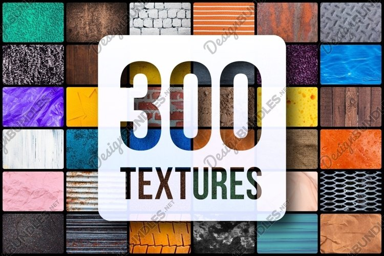 Mega bundle of 300 different textures and backgrounds