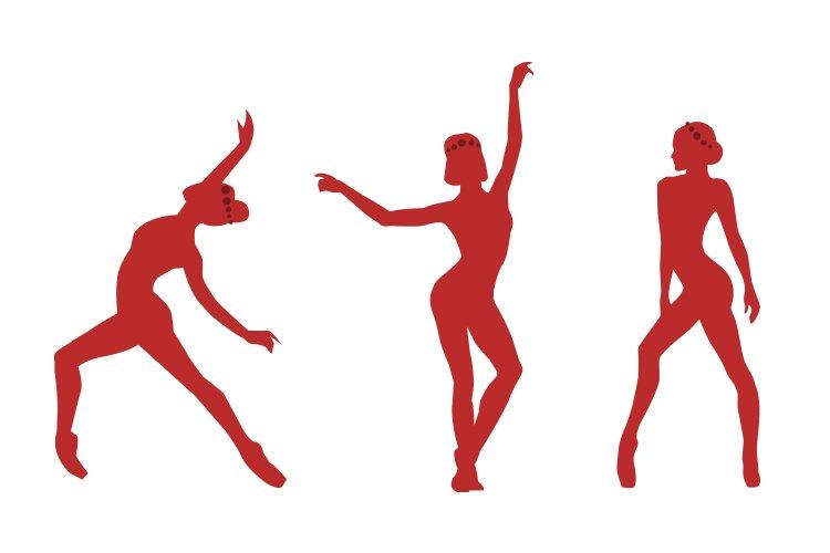 Dance logo design  Silhouette