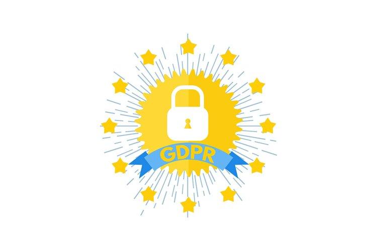 General Data Protection Regulation - GDPR logo. example image 1
