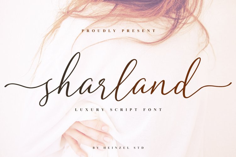 Sharland Luxury Script example image 1