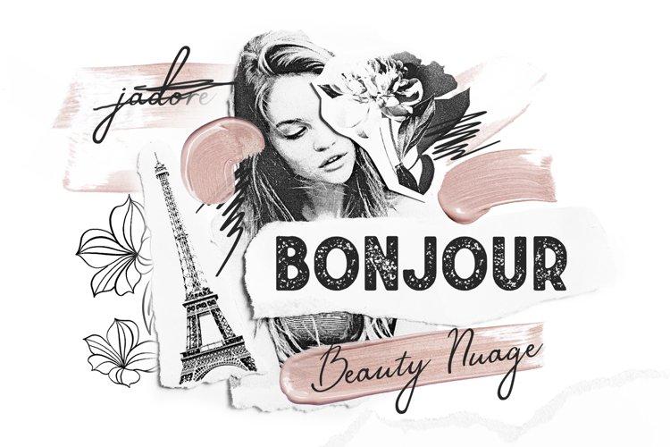 Bonjour Sans Serif Font example image 1