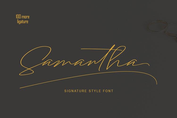 Samantha Signature example image 1