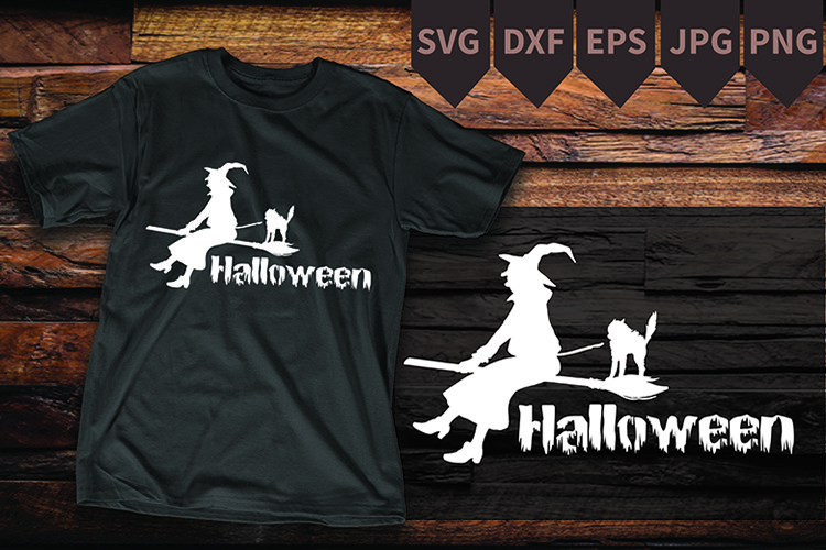 Witch shirt Halloween tee idea for T Shirt example image 1